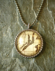 Keuka Lake 1796 pendant necklace