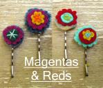 mod flower hairpins
