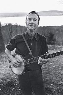 Pete Seeger w/ banjo