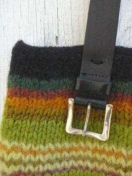 detail of bag handle