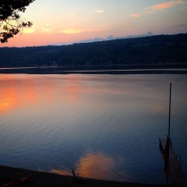 early morning, Keuka